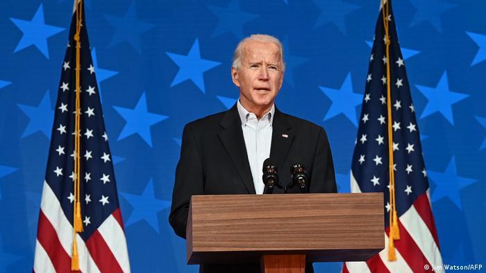 Demokratların adayı ve eski başkan yardımcısı Joe Biden