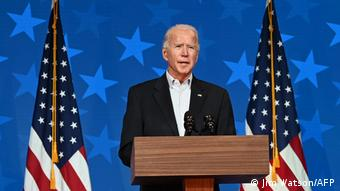 Джо Байден, кандидат в президенты США от Демократическойт партии