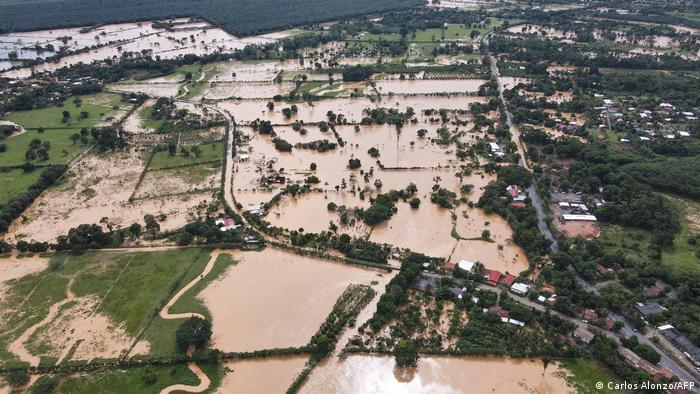 Hurricane Eta flooded parts of Guatemala