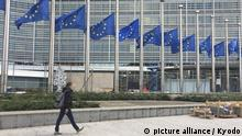 EU flags at half-staff after terror attacks in Vienna, Nice