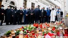 Gedenkmarsch in Gedenken an die Opfer des Terroranschlages