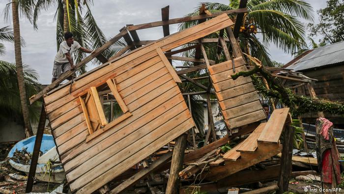Nicaragua Tropensturm Eta