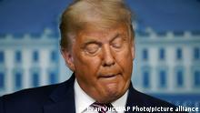 US Wahlen 2020 - Donald Trump Rede