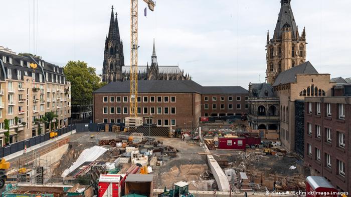 MIQUA museum building site in Cologne