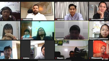 Online event Kambodscha MIL Journalismus