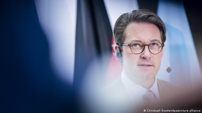 Deutschland Bundesverkehrsminister Scheuer