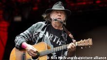 Dänemark Roskilde Festival 2016 |Neil Young, Rockmusiker
