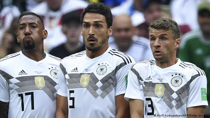 WM Russland 2018 | Jerome Boateng, Mats Hummels und Thomas Mueller