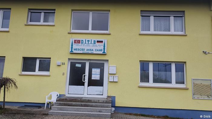 Hüfingen'deki DİTİB'e bağlı Mescid-i Aksa Camii