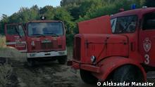 Alte Feuerwehrautos in Struga, Nordmazedonien Copyright: Aleksandar Manasiev