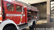 Feuerwehrauto in Struga, Nordmazedonien Copyright: Aleksandar Manasiev