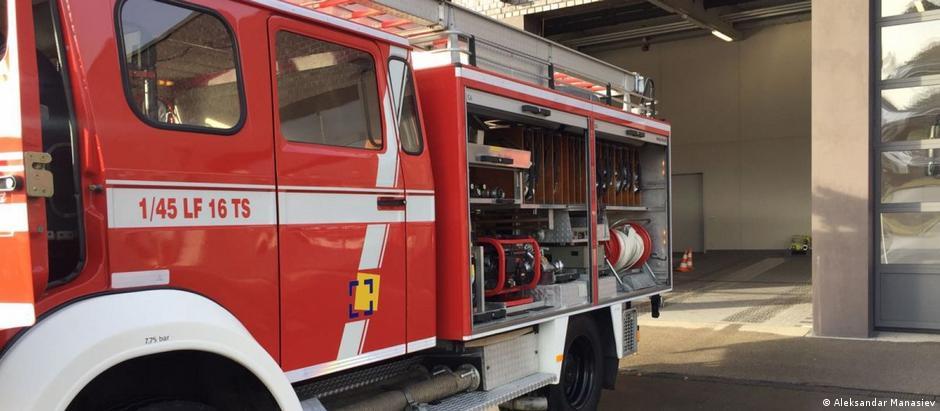 Nordmazedonien |Feuerwehr in Struga