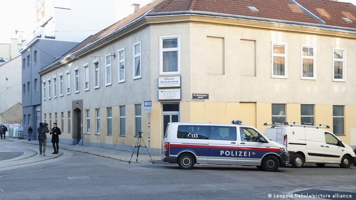 Tehwid:Moschee in Wien Meidling polizeilich geschlossen (Leopold Nekula/picture alliance )