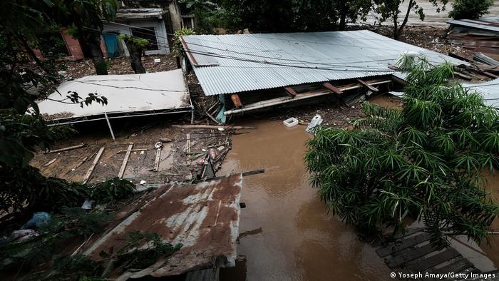 Guatemala I Tropensturm Eta (Yoseph Amaya/Getty Images)