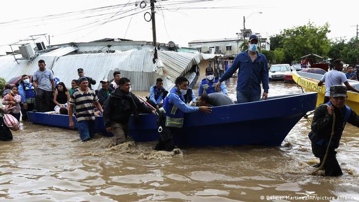 Guatemala I Tropensturm Eta