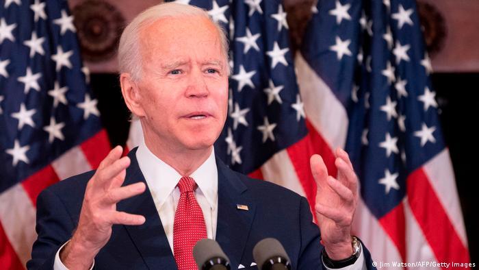الرئيس الأمريكي الجديد جو بايدن (2020)