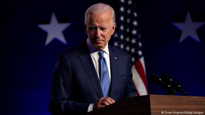 Джо Байден, кандидат в президенты США от Демократической партии