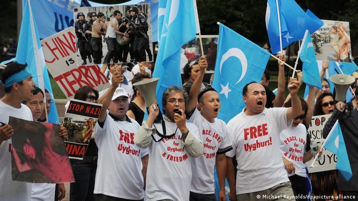 Διαδήλωση Ουιγούρων κατά τη Κίνας στη Ουάσινγκτον (2009)
