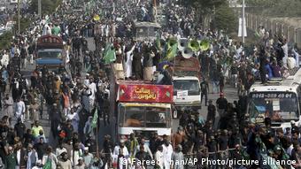 Karikaturenstreit - Proteste in Pakistan