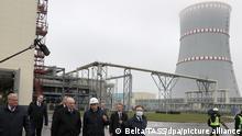 Belarus I Inbetriebnahme des AKWs in Ostrovets