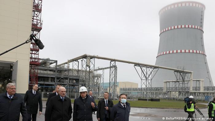 Александр Лукашенко во время посещения БелАЭС, 7 ноября 2020 года