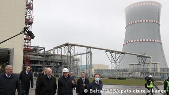 В ноябре 2020 года Александр Лукашенко ввел в эксплуатацию Белорусскую АЭС