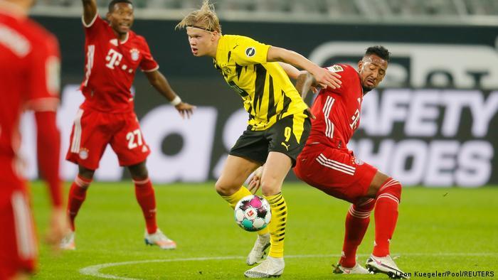 Utakmica Bayerna i Borussije