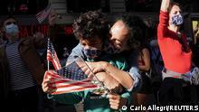 US-Wahl 2020 | Unterstützer von Joe Biden feiern