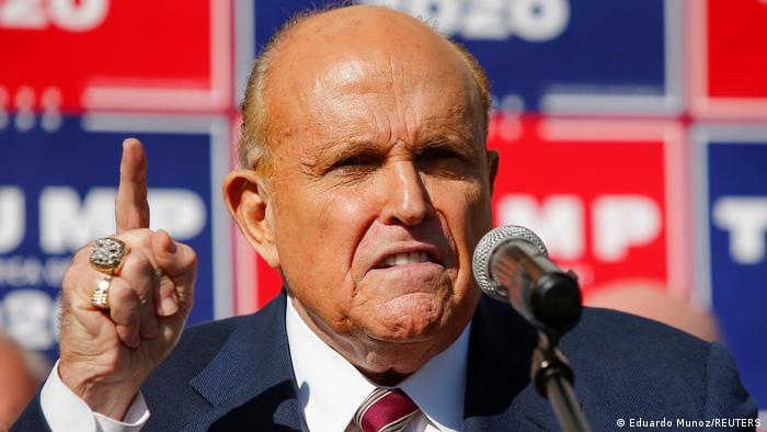 US-Wahl 2020 | PK Rudy Giuliani zum Bidens Sieg (Eduardo Munoz/REUTERS)