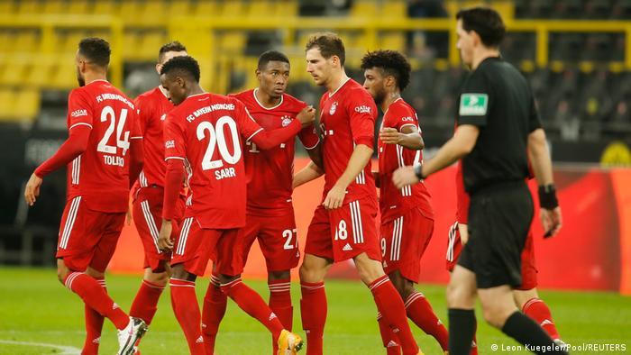 Bayern Munich celebrate a goal