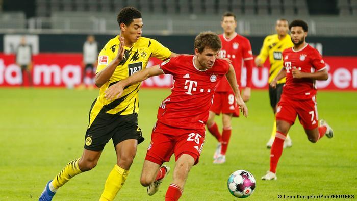 الدوري الألماني: مباراة دورتموند وبايرن ميونيخ (7 نوفمبر 2020)