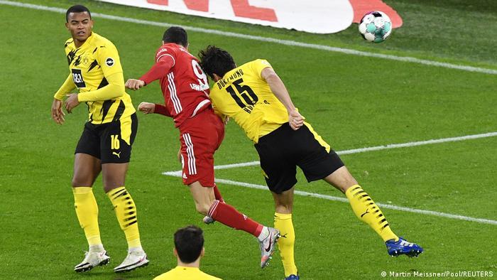 Bundesliga I Borussia Dortmund v Bayern München (Martin Meissner/Pool/REUTERS)