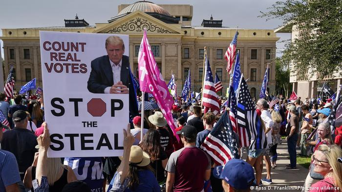 USA I Proteste von Donald Trumps Anhängern