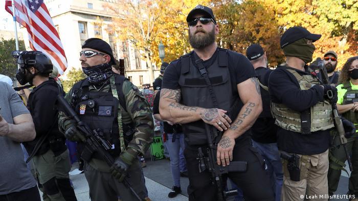 USA I Proteste von Donald Trumps Anhängern (Leah Millis/REUTERS)