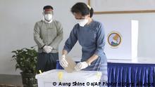 Wahlen in Myanmar | Vorzeitige Stimmabgabe Aung San Suu Kyi