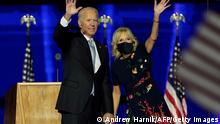 USA Wilmington | Joe Biden und Jill Biden