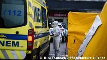 Portugal Corona-Pandemie | Krankenhaus Porto