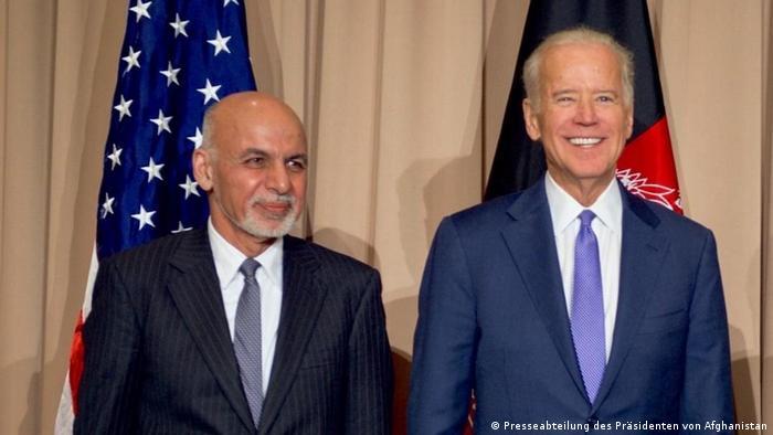 Ghani y Biden, en una foto de archivo.