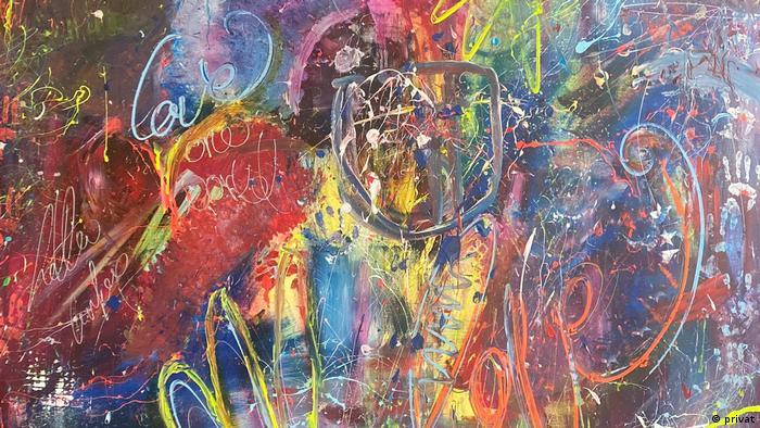 Samir adlı tablo 15 bin euro'ya satıldı