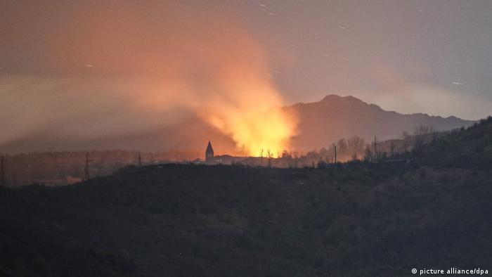 درگیری شبانه در حوالی شوشا (هفتم نوامبر ۲۰۲۰)