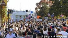 USA Freude über den Wahl-Sieg Joe Bidens
