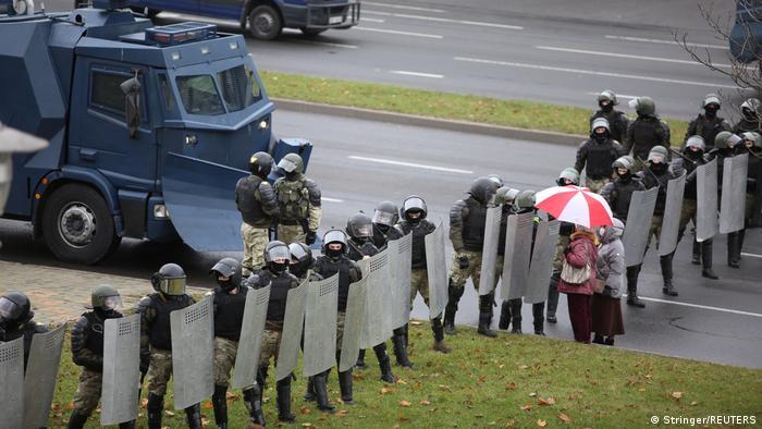 На акции в Минске