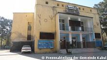 Die afghanische Regierung zerstört das alte Park Kino in Kabul.