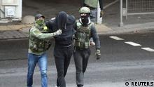Weißrussland Belarus Proteste Polizei Festnahmen