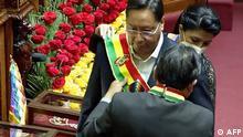 Bolivien | La Paz | Amtsantritt Luis Arce, Präsident