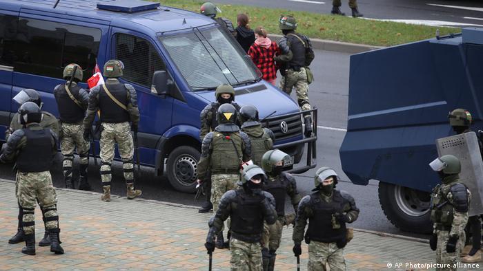 Belarus protests in Minsk