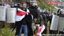 Weißrussland | Belarus | Proteste Polizei Festnahmen in Minsk