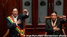 Bolivien | La Paz | Amtsantritt Luis Arce | Präsident