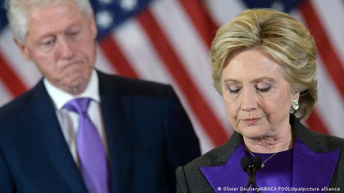 USA Hillary Clinton (Olivier Douliery/ABACA POOL/dpa/picture alliance )