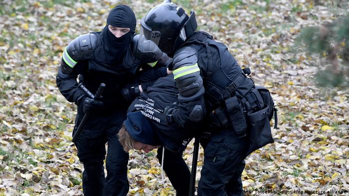 Weißrussland | Belarus Minsk | Proteste Polizei Festnahmen
